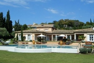 Villa to rent Saint Tropez and Sainte Maxime